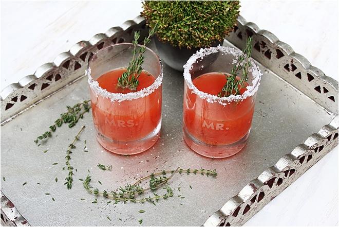 fun signature cocktail paloma spring wedding capitol beverage