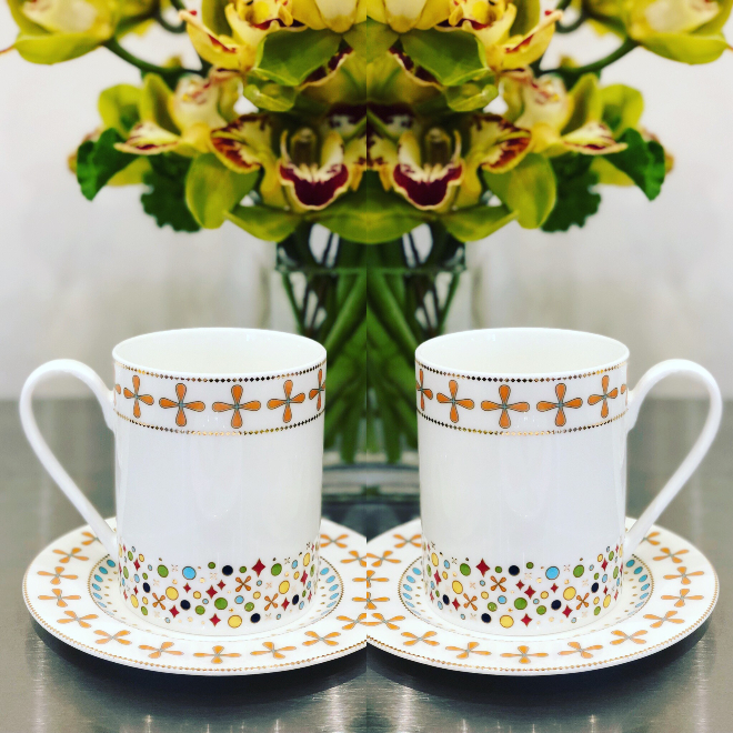 Jubilee Collection porcelain tableware Bering's Houston gift registry