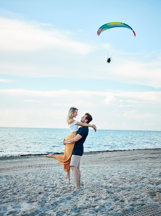 summer engagement shoot, miami, civic photos, houston photographer, miami beach, beach engagement shoot
