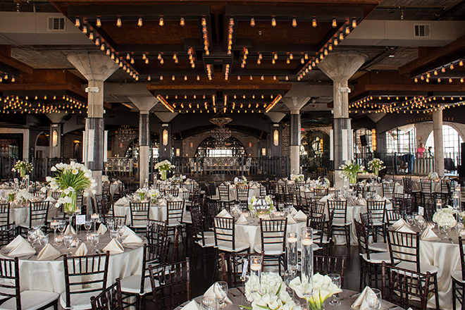 astorian spring wedding, downtown houston wedding venues, white wedding reception decor, dark brown chiavari chairs, the astorian