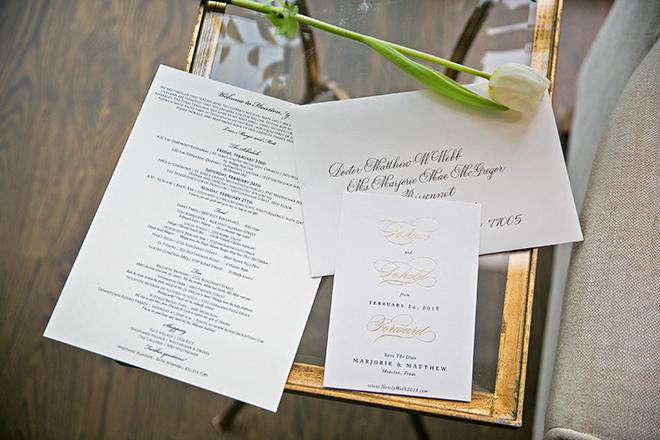 california texas wedding, wedding stationery, invitations, rsvp, save the date, wedding program