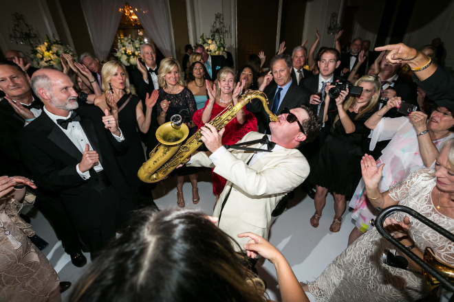 houston wedding music band emerald city live horns cover