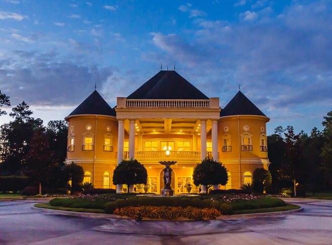 Houston castle wedding venue fairytale chateau polonez