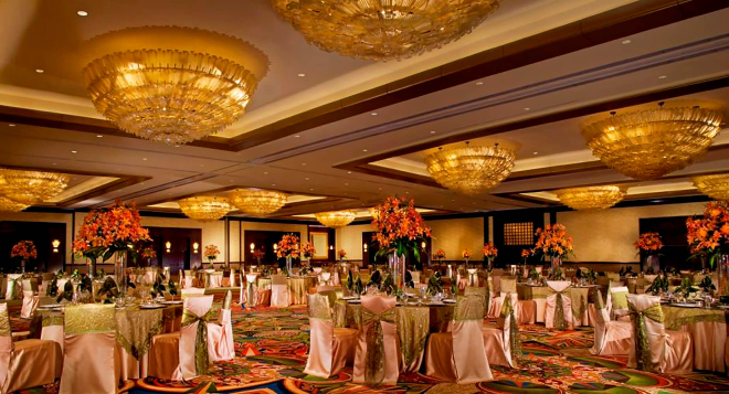 downtown houston wedding hotel hilton americas south asian persian arab big venue