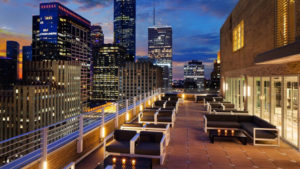 Downtown Houston Rooftop Wedding: Le Meridien