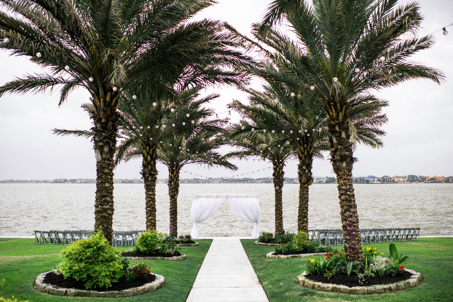 waterfront wedding venue houston texas seabrook galveston outdoor ceremony