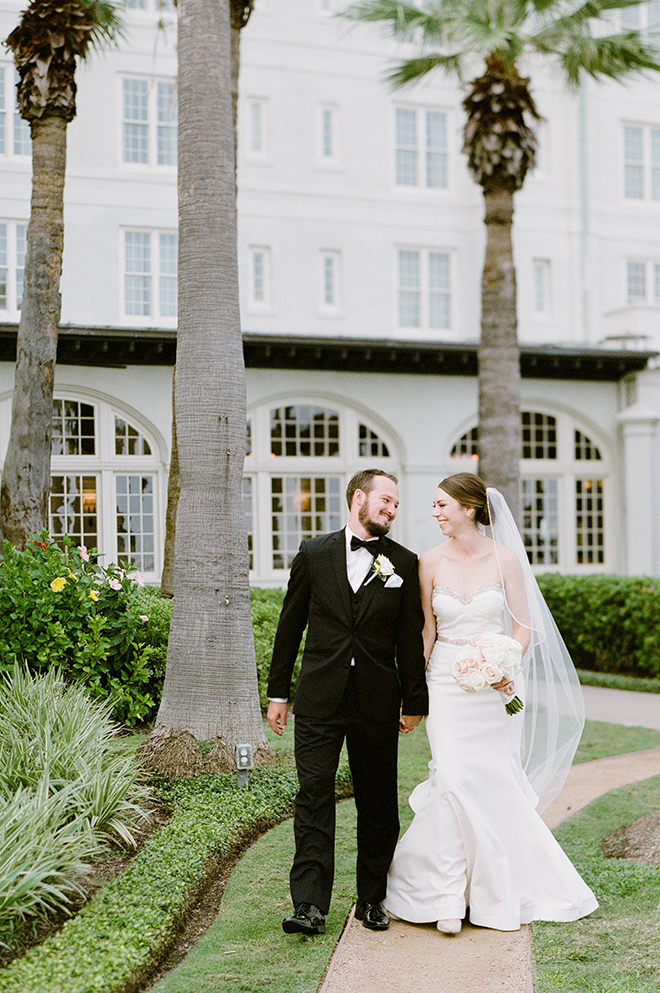 galveston texas wedding galvez classic southern bride groom
