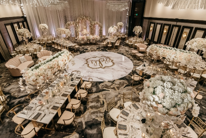 luxury hotel wedding houston post oak