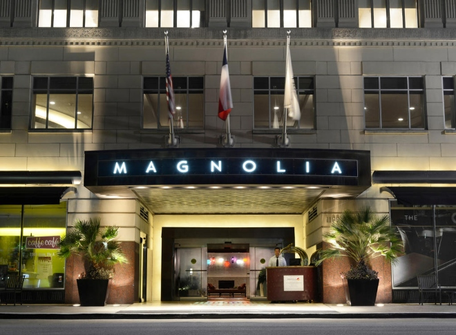 Magnolia Hotel Houston wedding venue downtown