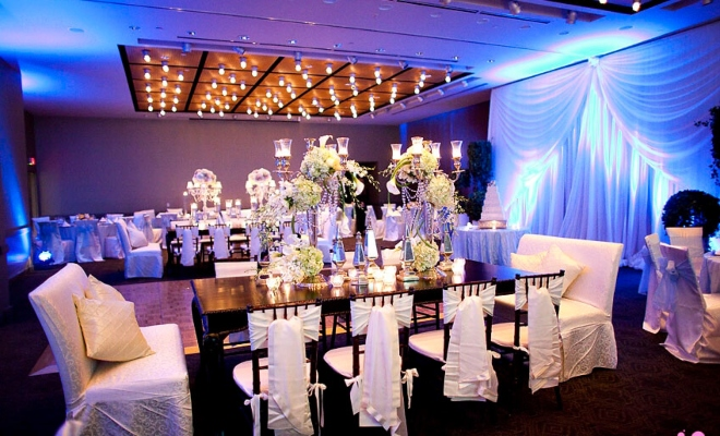 Magnolia Hotel ballroom wedding downtown houston historic