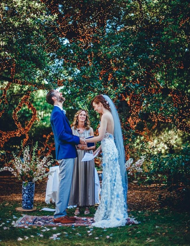 indoor outdoor houston wedding houstonian hotel oak tree ama aisha