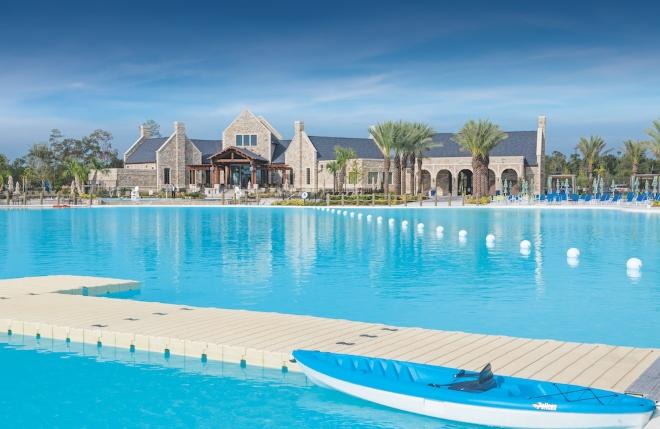 new houston wedding venue humble resort destination water tent outdoor ceremony texas
