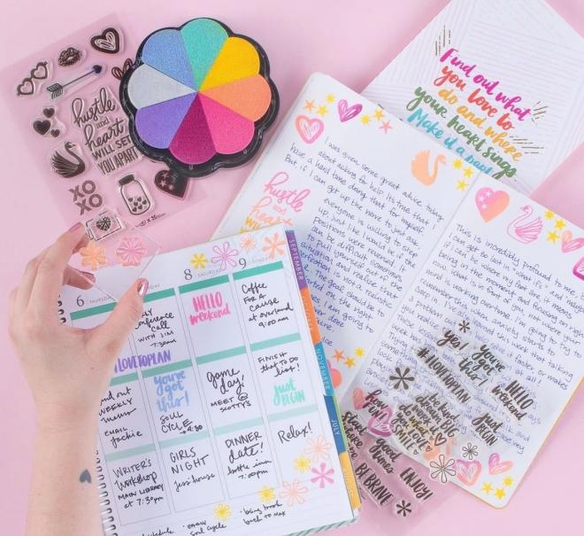 soiree gift bag erin condren stationery planner wedding stickers