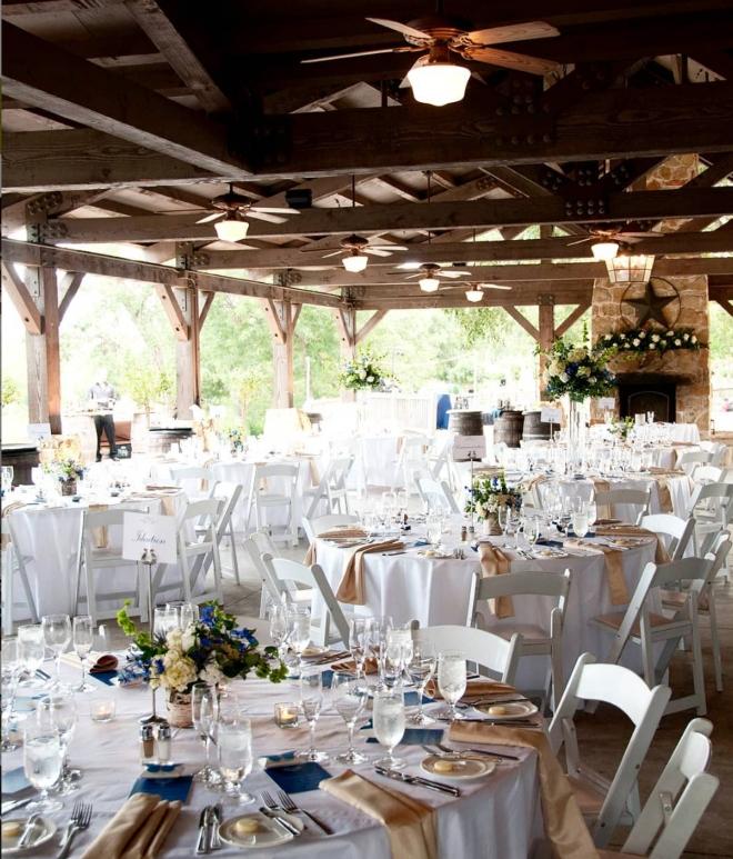 hill country weddings barn wedding hyatt regency lost pines outdoor reception