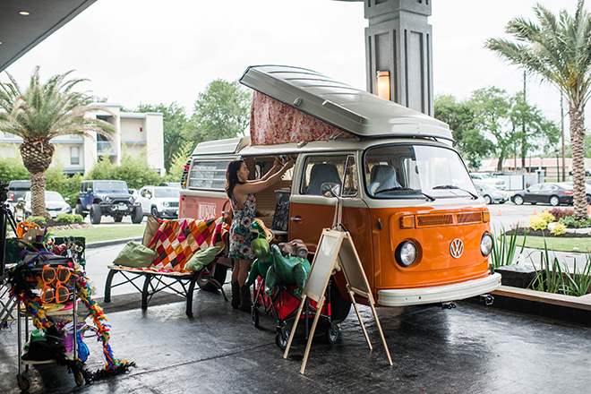 vw van bus mobile photo booth houston