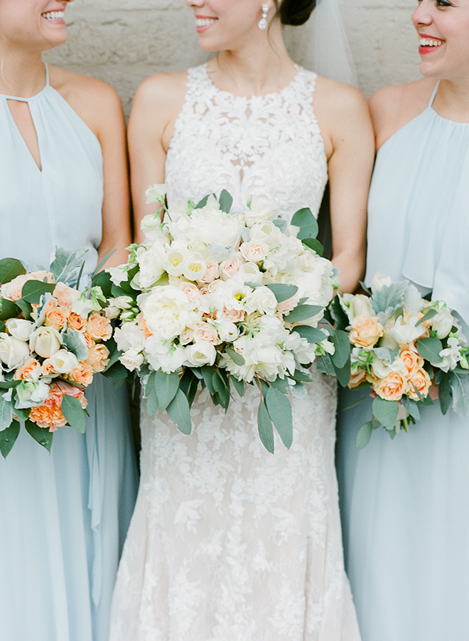 light blue dresses bella bridesmaids houston pastel spring wedding