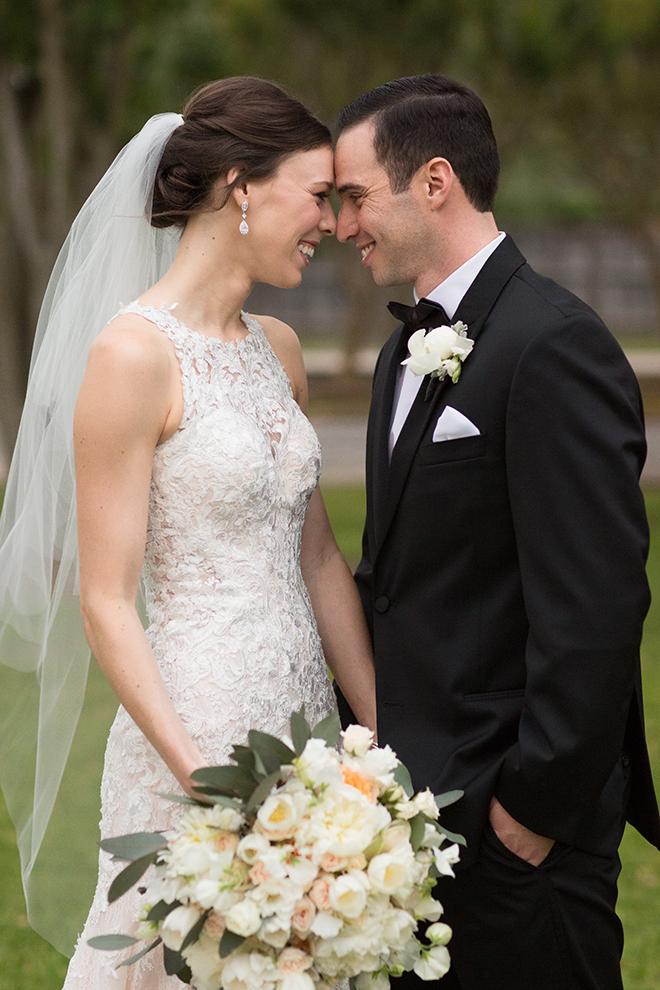 pastel spring wedding houston racquet club kelli durham bride groom brett ashley