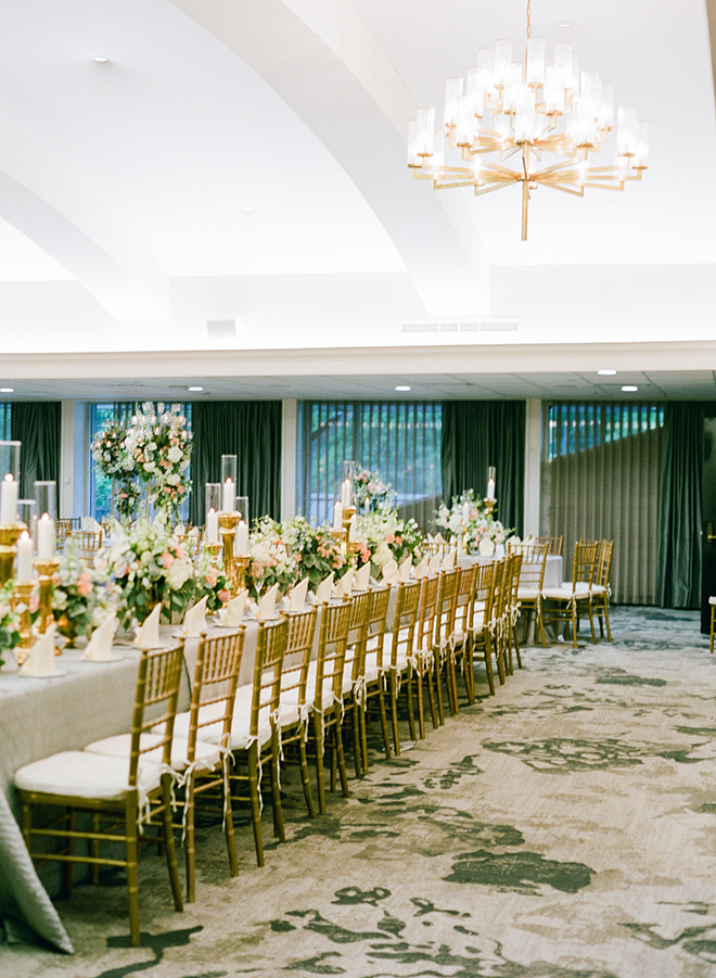 houston racquet club pastel spring wedding reception ballroom kelli durham