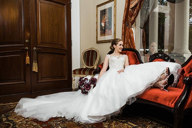 heather's glen bride suite cottage bridal conroe venue