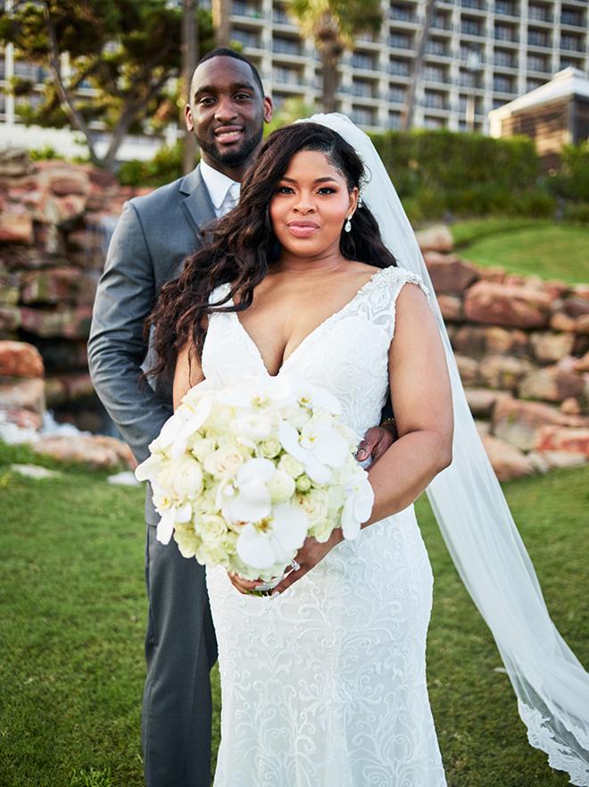galveston wedding houston photographer basketball player brian wanamaker outdoor ceremony