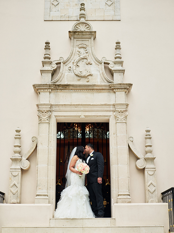 castle blush and white wedding texas houston