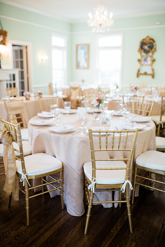 vintage rustic diy wedding reception blush mint ivory southern plantation reception
