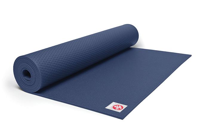 Registry Gift Ideas For the Fitness Lover Blue Manduka Yoga Pilates Mat