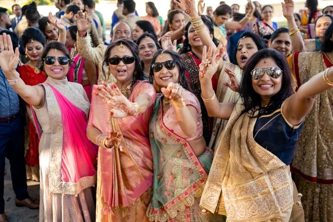 muslim pakistani bridesmaids houston sunglasses