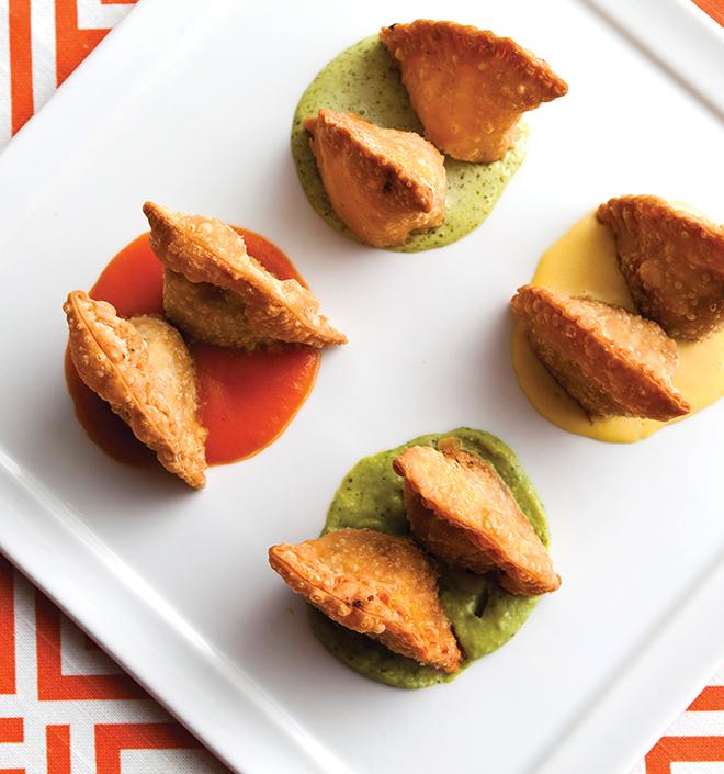 Mini Empanadas Appetizer by Churrasco's - Cordua Catering