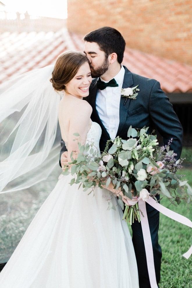 green blush and ivory wedding the gallery houston texas organic romantic eucalyptus