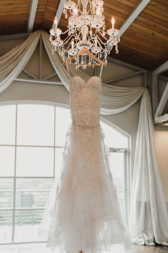 boho hill country wedding texas terrace club wedding gown chandelier