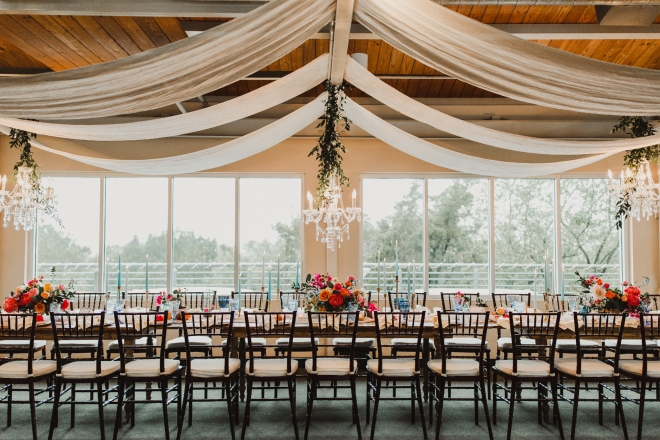 wedding reception terrace club dripping springs hill country boho chic