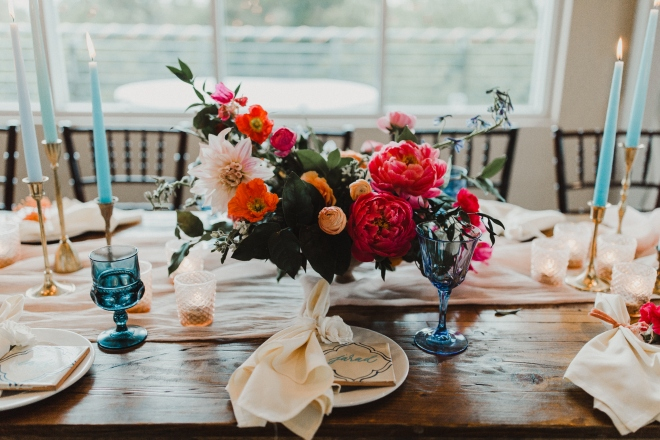 boho centerpiece rustic elegant terrace club dripping springs wedding reception