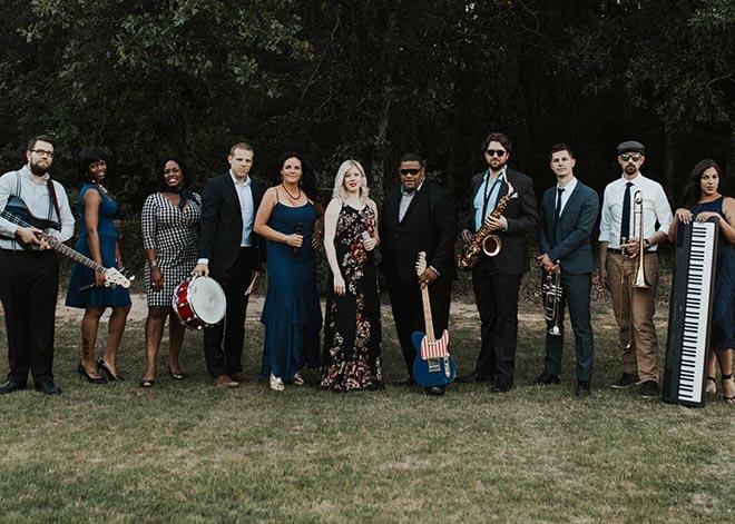 The Royal Dukes Band - 11-Piece Wedding Band