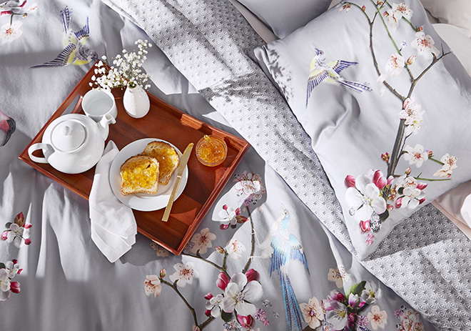 Ted Baker London Spring Linens and Bedding Wedding Registry