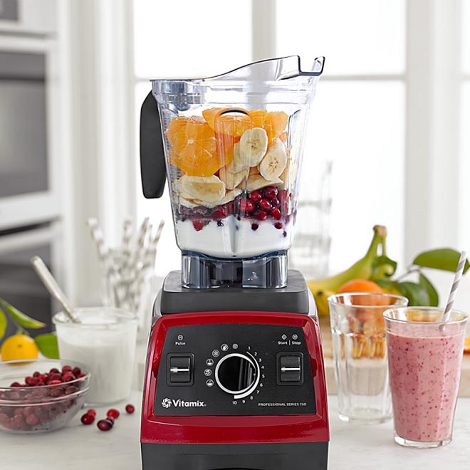 Wedding registry health fitness gifts Red Vitamix Blender