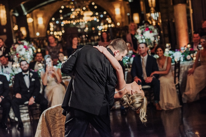 modern elegant wedding the astorian julie kevin dance
