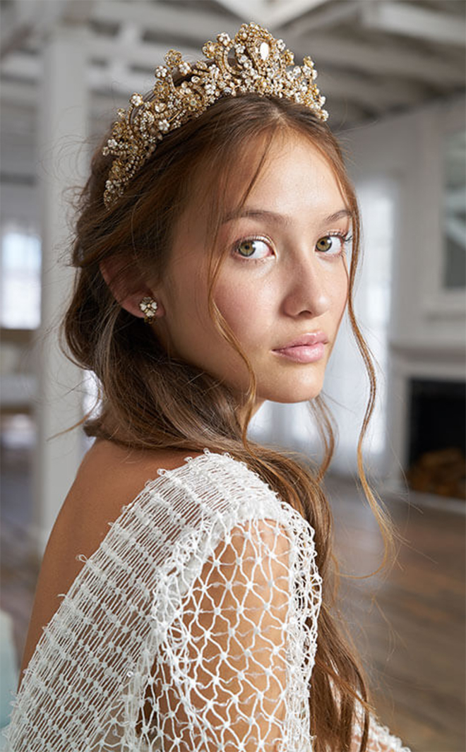 Fall 2019 bridal headpieces - Maria Elena
