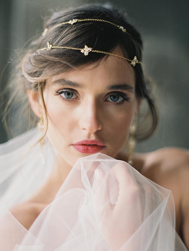 Poeme circlet headpiece - bridal headpieces