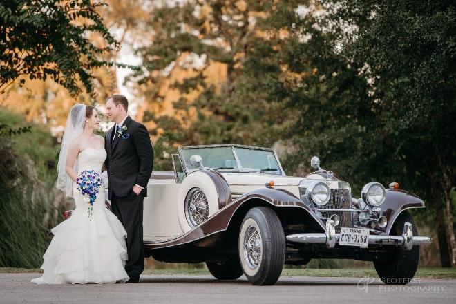 local destination weddings 15 acres vintage car