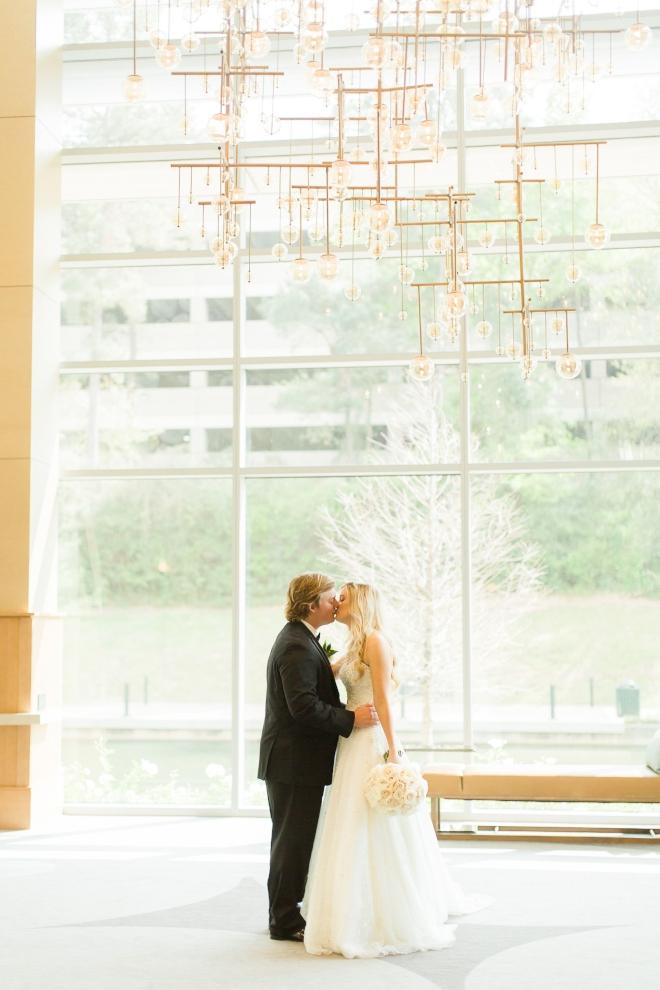 houston destination wedding venue the woodlands lobby modern contemporary city chandelier