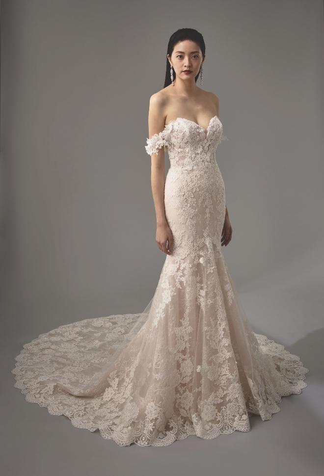 2020 Bridal Gowns The Off Shoulder