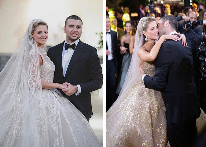 elie saab couture wedding gown - elie saab jr wedding