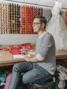 Houston Fashion Designer David Peck On Custom Gown Design