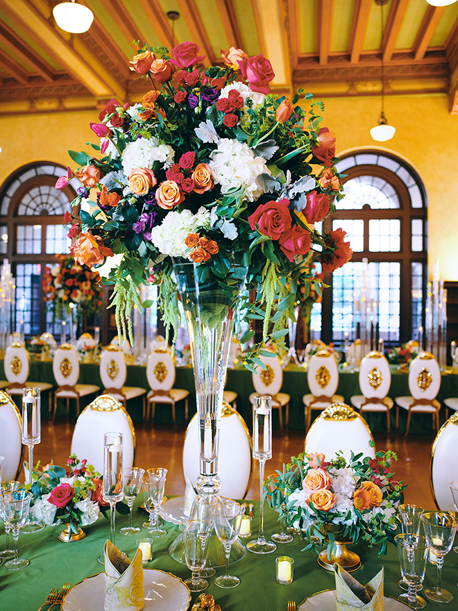 Royal Luxury Events - Houston Wedding Venue- Luxury Houston Wedding Decor - Julia Ideson Library