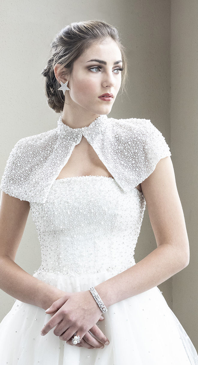 wedding dresses - beaded wedding dress- houston bridal salons - now and forever bridal boutique