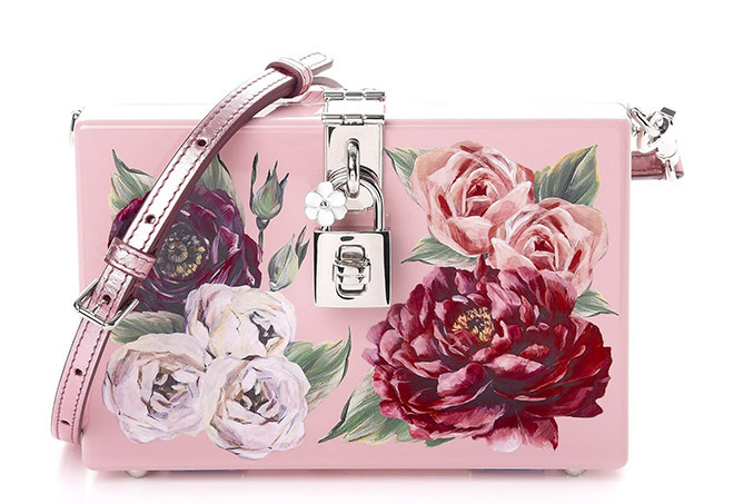 Dolce and Gabbana - Floral Print Bridal Handbags