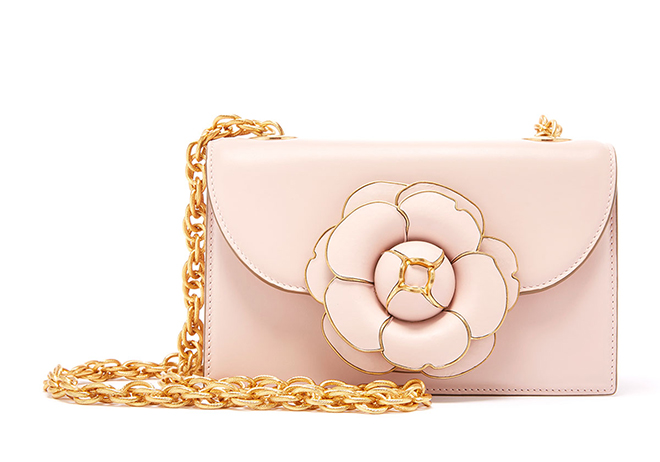 Oscar de la Renta Blush Bridal Crossbody