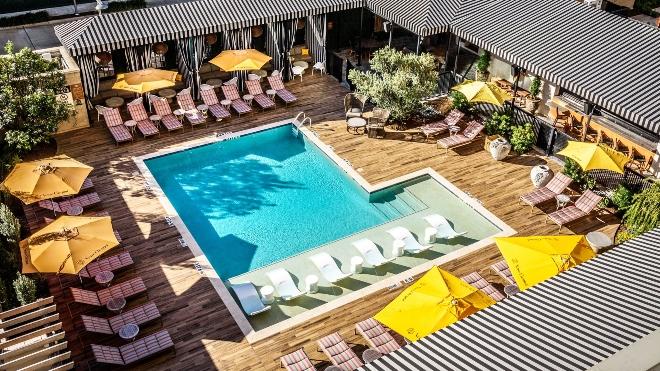 houston hotel wedding venue zaza memorial city pool deck terrace