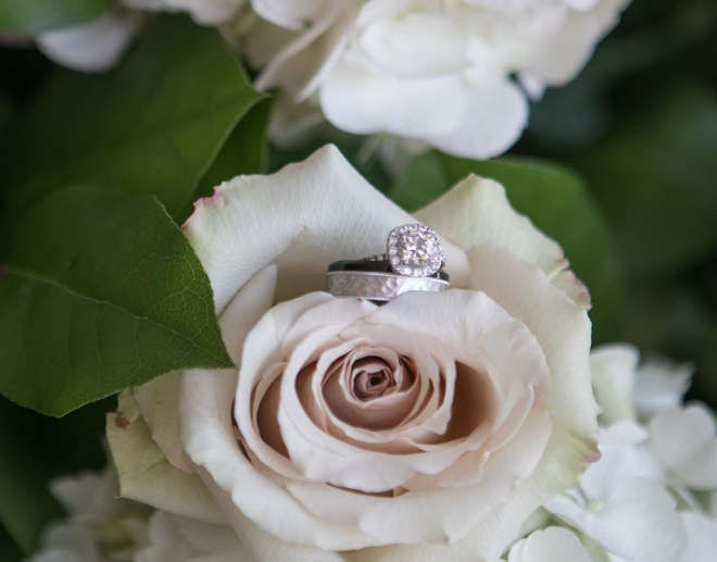 fall wedding blush rose diamond engagement ring pine forest country club